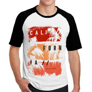 Camiseta Raglan California