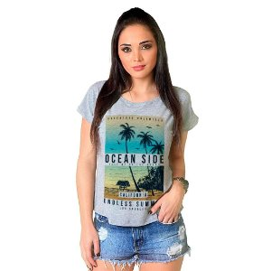 Camiseta T-shirt  Manga Ocean Side
