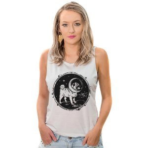 Regata Cavada Pug Astronauta