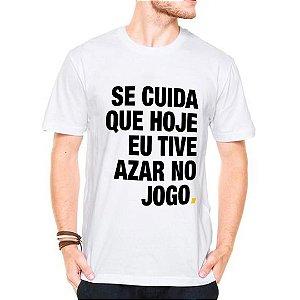Camiseta Manga Curta Se Cuida