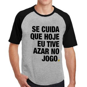 Camiseta Raglan Se Cuida