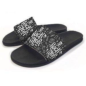 Chinelo Slide Rock Star