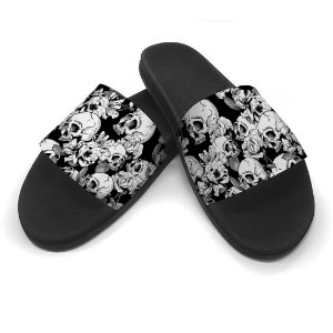 Chinelo Slide Caveiras