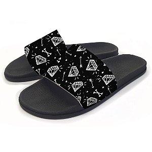 Chinelo Slide Diamantes