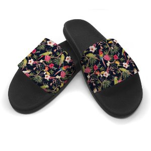 Chinelo Slide Aves Tropical