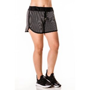 Shorts Listras 3D Cinza