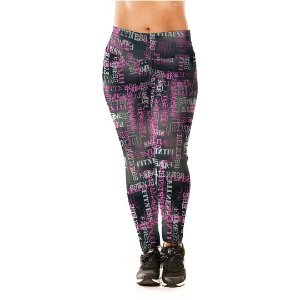 Legging Estampado Fitness Alta Performance