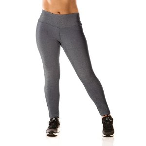 Legging Cinza Alta Performance
