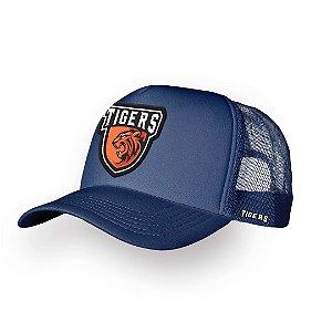 Boné Trucker Tigers Marinho
