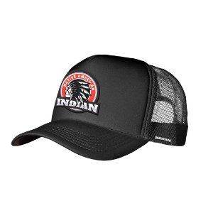 Boné Trucker Indian Preto