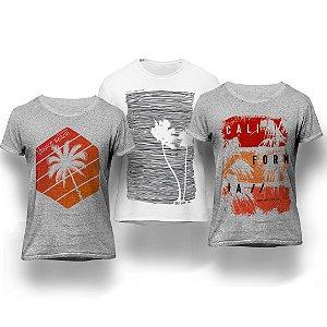 Kit California 3 Camisetas