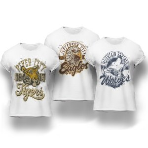 Kit Animals 3 Camisetas