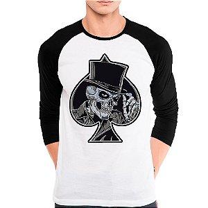 Camiseta Manga Longa Coringa Espada