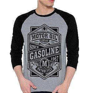 Camiseta Manga Longa Gasoline