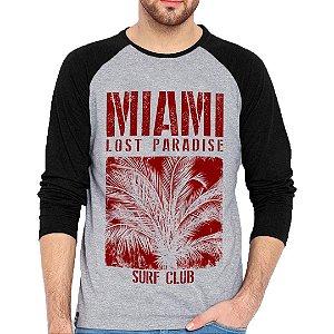 Camiseta Manga Longa Miami