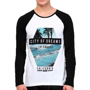 Camiseta Manga Longa City Of Dreams