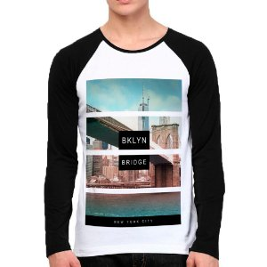 Camiseta Manga Longa Brooklyn Bridge