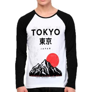 Camiseta Manga Longa Tokyo