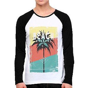 Camiseta Manga Longa Beach Color