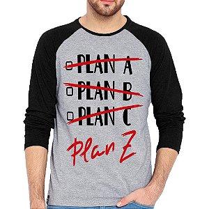 Camiseta Manga Longa Plan Z