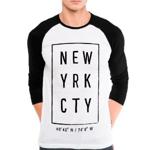Camiseta Manga Longa New York City