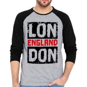 Camiseta Manga Longa London