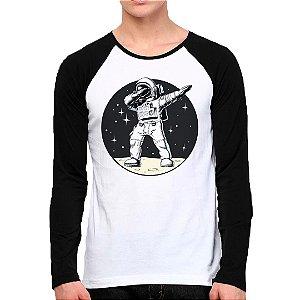 Camiseta Manga Longa Astronauta Style