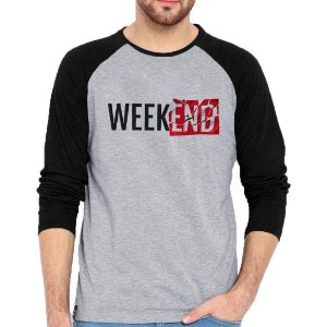 Camiseta Manga Longa Weekend