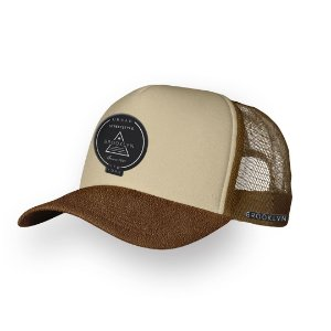 Boné Trucker Brooklyn Camel