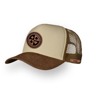 Boné Trucker Poker All Camel