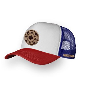 Boné Trucker Poker Texas