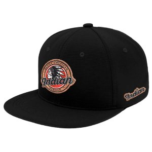 Boné Aba Reta Snapback Indian Warrior Preto