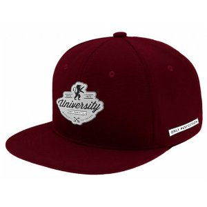 Boné Aba Reta Snapback Only Perfection Bordo