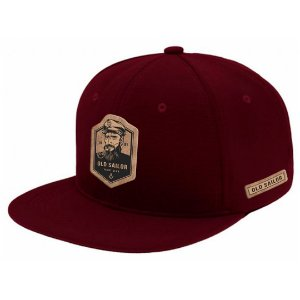 Boné Aba Reta Snapback Old Sailor Bordo