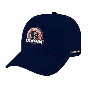 Boné Aba Curva Indian Marinho