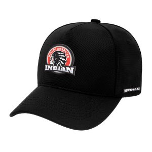 Boné Aba Curva Indian Preto