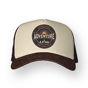 Boné Trucker Adventure Café