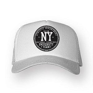 Boné Trucker NY Branco