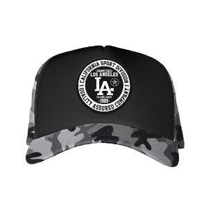 Boné Trucker Los Angeles Camuflado