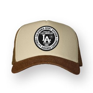 Boné Trucker Los Angeles Camel