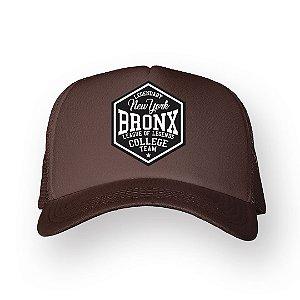 Boné Trucker Bronx Marrom