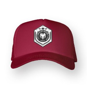 Boné Trucker American Original Bordo