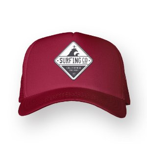 Boné Trucker Surfing Bordo