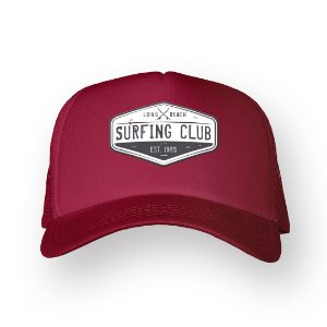 Boné Trucker Surfing Club Bordo