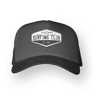 Boné Trucker Surfing Club Chumbo