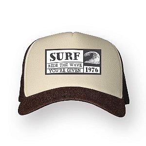 Boné Trucker Surf Café