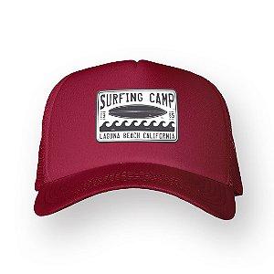 Boné Trucker Surfing Camp Bordo