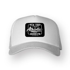 Boné Trucker New York Branco