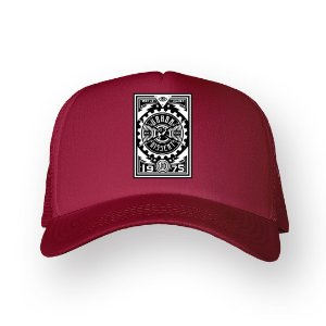 Boné Trucker Urban Bordo