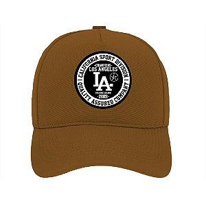 Boné Aba Curva Los Angeles Marrom